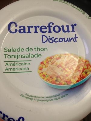 Salade de thon Américaine