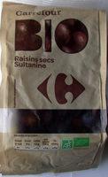 Raisins secs Sultanine - Produit