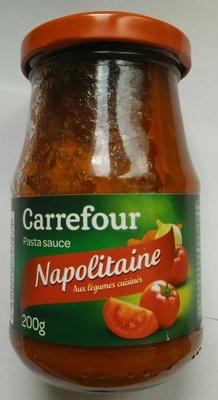 Napolitaine aux légumes cuisinés