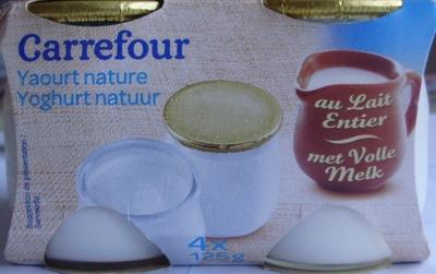 Yaourt nature (4 x 125 g)
