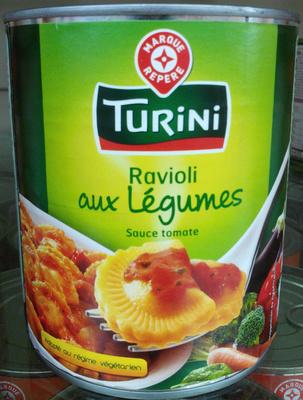 Ravioli aux légumes sauce tomate