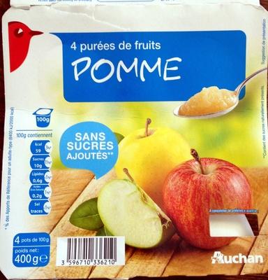 Purées de fruits Pomme