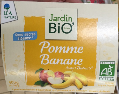 Pomme Banane dessert Biofruits