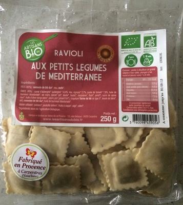 Ravioli aux petits légumes de Méditerranée