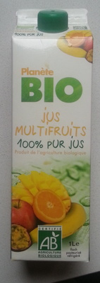Jus Multifruits 100% pur Jus