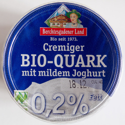 Cremiger Bio-Quark mit mildem Joghurt