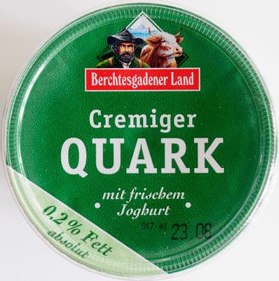Cremiger Quark