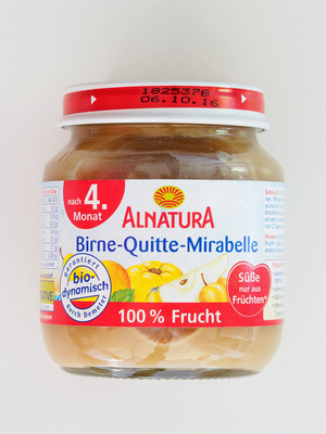Birne-Quitte-Mirabelle