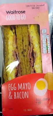 Egg Mayo & Bacon Sandwich