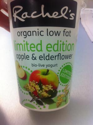 Limited Edition apple & elderflower bio-live yogurt