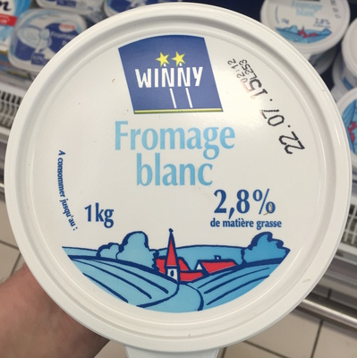 Fromage blanc (2, 8% MG)