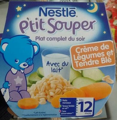 P'tit Souper Crème de Légumes et Tendre Blé
