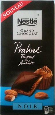 Grand Chocolat - Fondant aux amandes (Noir)