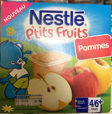 P'tits Fruits Pommes