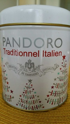 Pandoro traditionnel italien