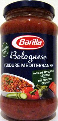 Bolognese Verdure Méditerranée Barilla