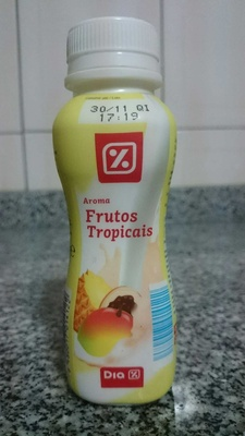 Iogurte làquido frutos tropicais