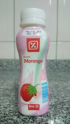 Iogurte làquido morango