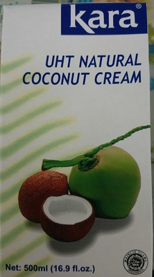 UHT Natural Coconut Cream