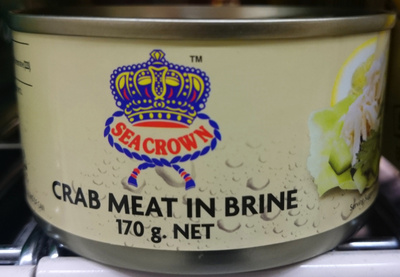 Seacrown Crab Meat in Brine