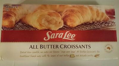 All Butter Crossiants