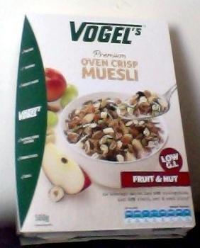 Vogel's Premium Oven Crisp Muesli Fruit & Nut